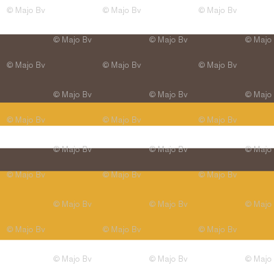 1920s Retro Kitchen Stripes (orange/white/brown)