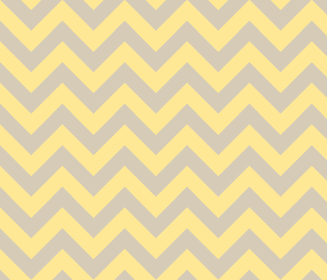 zigzag yellow fabric by jenr8 on Spoonflower - custom fabric