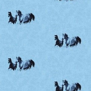 Mare With Foal 3, S