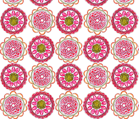Flowers for Mom fabric by natitys on Spoonflower - custom fabric