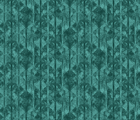 Dark teal dragon scale brocade fabric by su_g on Spoonflower - custom fabric