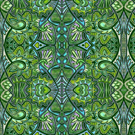 Jungle Love fabric by edsel2084 on Spoonflower - custom fabric