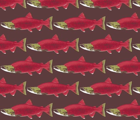 SockeyeSalmon-ch fabric by mysticalarts on Spoonflower - custom fabric