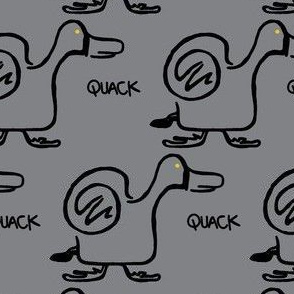 Quack Attack (light grey)
