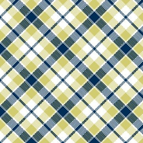 KC plaid navy/apple