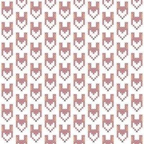Cross Stitch Red Fox
