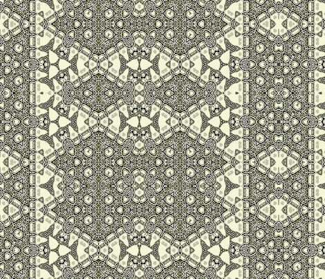 Lindisfarne Celt Grey fabric by wren_leyland on Spoonflower - custom fabric