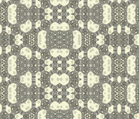 Lindisfarne Troll Chain Mail fabric by wren_leyland on Spoonflower - custom fabric