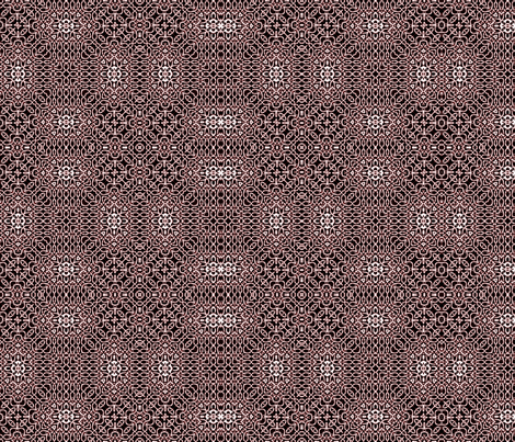 Lindisfarne black cherry weave fabric by wren_leyland on Spoonflower - custom fabric