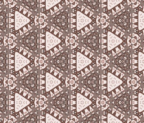 Lindisfarne Black Cherry Pie fabric by wren_leyland on Spoonflower - custom fabric