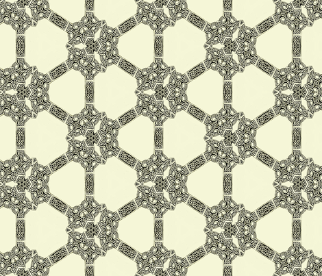 Lindisfarne Slav fabric by wren_leyland on Spoonflower - custom fabric