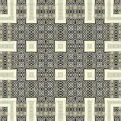 Lindisfarne Dark Table weave