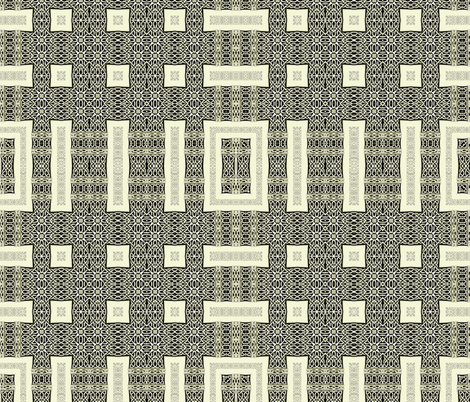 Lindisfarne Dark Table weave fabric by wren_leyland on Spoonflower - custom fabric