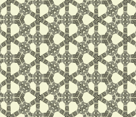 Lindisfarne Unbreakable Bonds fabric by wren_leyland on Spoonflower - custom fabric