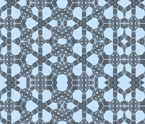 Lindisfarne Blue Tinker Construction  fabric by wren_leyland on Spoonflower - custom fabric