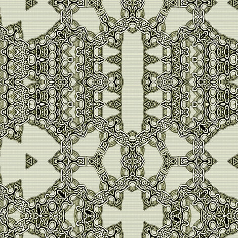 Lindisfarne Lace-n-Plaid fabric by wren_leyland on Spoonflower - custom fabric