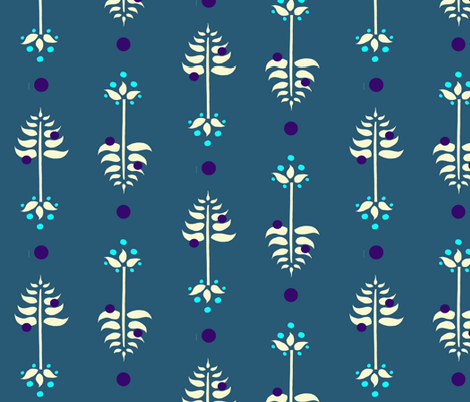 Tree Berry Root  fabric by leahvanlutz on Spoonflower - custom fabric