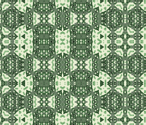 Lindisfarne Emerald Weave fabric by wren_leyland on Spoonflower - custom fabric