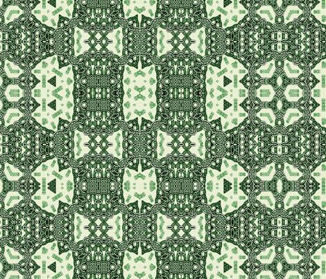 Lindisfarne Emerald Weave fabric by wren_leyland on Spoonflower - custom fabric