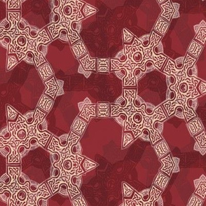 Lindisfarne Deep Cranberry