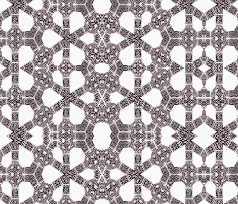 Lindisfarne silver kinetic connects fabric by wren_leyland on Spoonflower - custom fabric