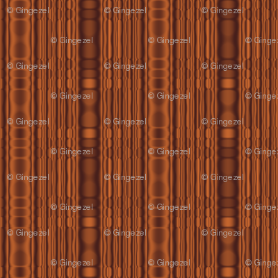 Beaded Look Brown Stripe © Gingezel™ 2012