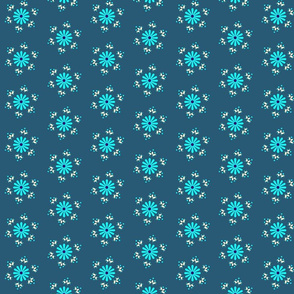 BerryFlower -Teal