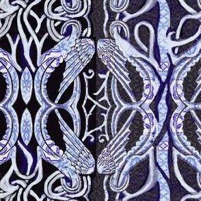 Dragon Wings in Blue