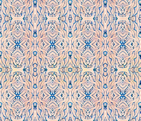 The Sea Of Humanity fabric by whimzwhirled on Spoonflower - custom fabric