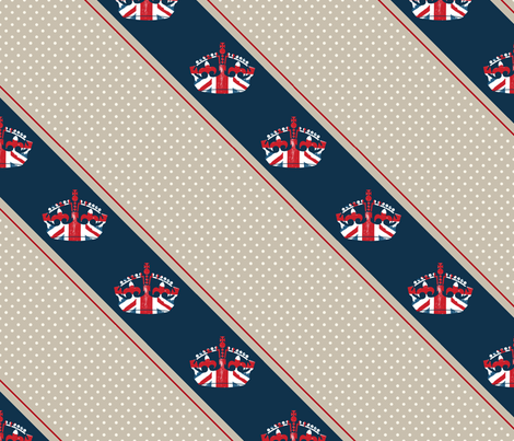 Diamond Jubilee 3 fabric by mgterry on Spoonflower - custom fabric