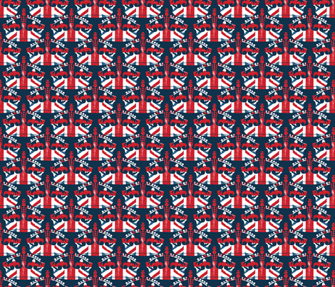 Diamond Jubilee 5 fabric by mgterry on Spoonflower - custom fabric