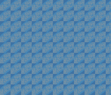 Blue and Beige Geometric © Gingezel™ 2012