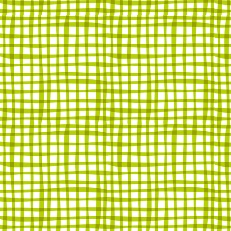 Farmtasia Gingham Green fabric by bzbdesigner on Spoonflower - custom fabric