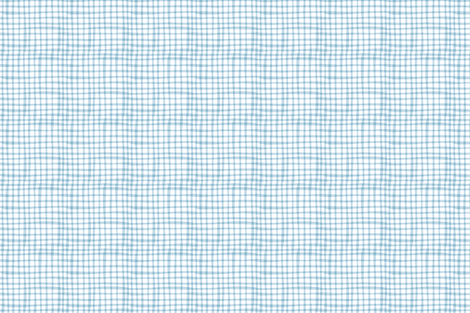 Farmtasia Gingham Blue fabric by bzbdesigner on Spoonflower - custom fabric