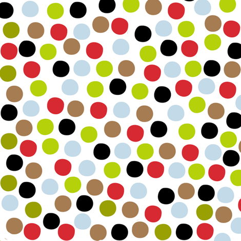 Farmtasia Dots fabric by bzbdesigner on Spoonflower - custom fabric