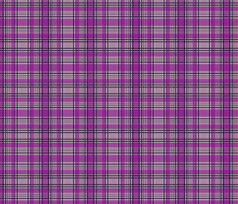 Purple Lumberjack fabric by glanoramay on Spoonflower - custom fabric