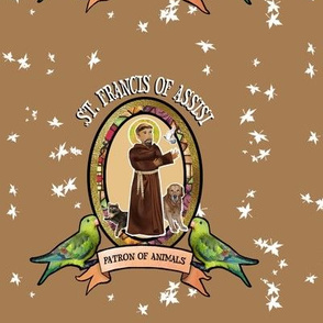 St. Francis, Patron saint of animals
