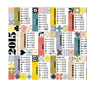 2015 Sewing for All Seasons Calendar