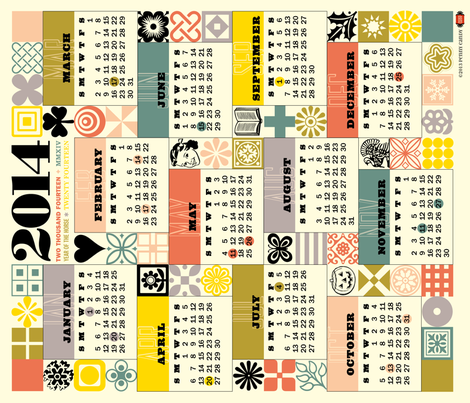Sewing for All Seasons Calendar