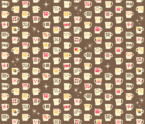 King of Cups (Americano) fabric by pennycandy on Spoonflower - custom fabric