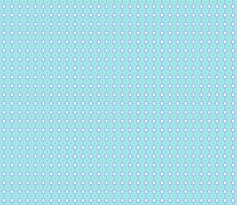 Dotty Ditsy Daisy (Sky &amp; aqua) fabric by pattyryboltdesigns on Spoonflower - custom fabric