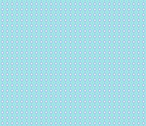 Dotty Ditsy Daisy (Sky & aqua) fabric by pattyryboltdesigns on Spoonflower - custom fabric