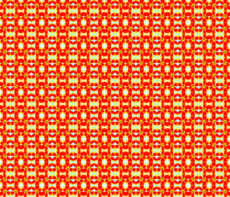 Red and Yellow Tulips fabric by robin_rice on Spoonflower - custom fabric
