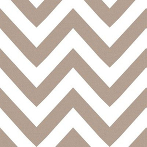 chevron canvas beige white