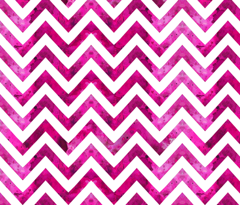 watercolor chevron purple pink white fabric by katarina on Spoonflower - custom fabric