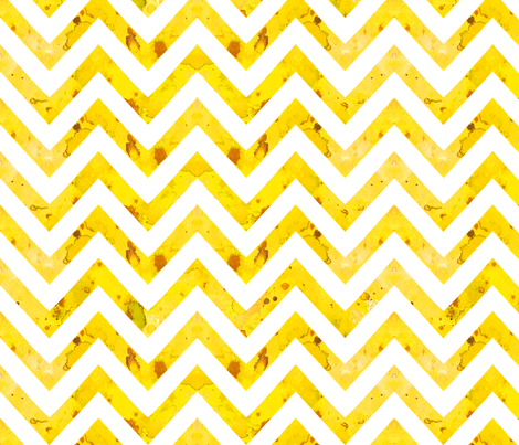 watercolor chevron yellow