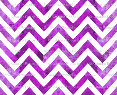 watercolor chevron purple darker
