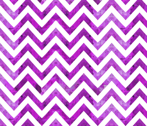 watercolor chevron purple darker fabric by katarina on Spoonflower - custom fabric