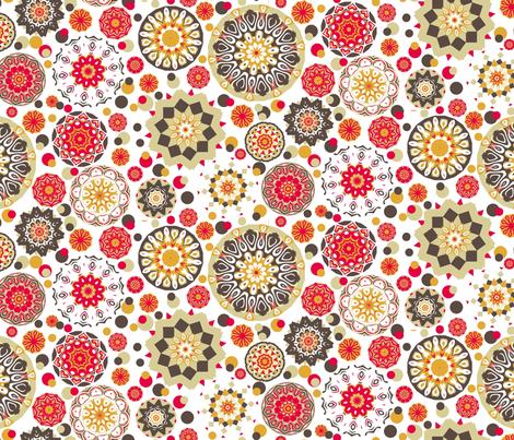 Kitchen Wheels fabric by elarnia on Spoonflower - custom fabric