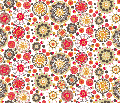 Kitchen Wheels fabric by elarnia on Spoonflower - custom fabric